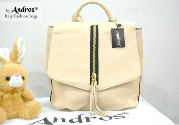 AB7000 IDR.235.000 MATERIAL PU SIZE L26XH29XW12CM WEIGHT 800GR COLOR BEIGE