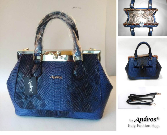 AB8082 IDR 285.000 MATERIAL PU SIZE L35XH23XW12CM WEIGHT 1300GR COLOR BLUE