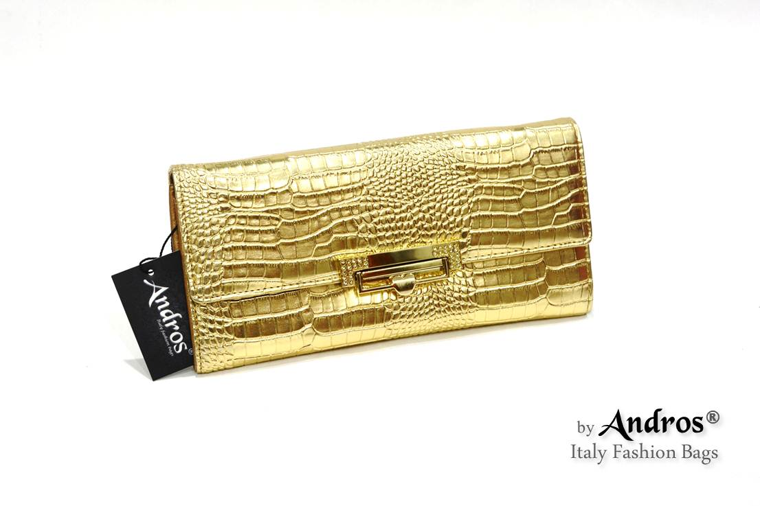AB9295 IDR 178.000 MATERIAL PU SIZE L23XH11XW4CM WEIGHT 350GR COLOR GOLD ...
