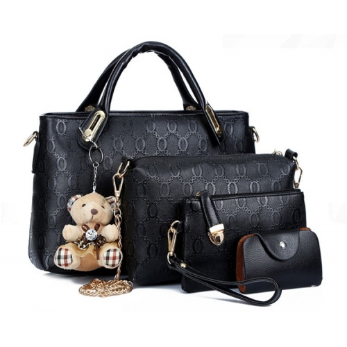 B066-(4in1) IDR.190.000 MATERIAL PU SIZE BIG-L32XH23CM,MEDIUM-L28XH18CM WEIGHT 1200GR COLOR BLACK