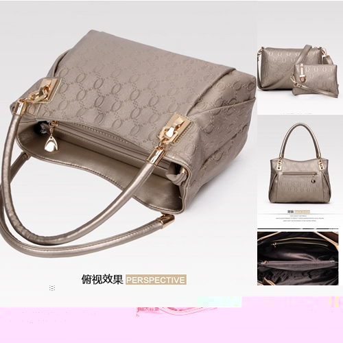 B067-(3in1) IDR.195.000 MATERIAL PU SIZE BIG-L31XH24XW14CM,MEDIUM-L24X17X7CM,SMALL-17X12CM WEIGHT 1000GR COLOR GOLD