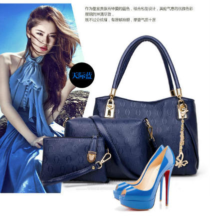 B067-(3in1) IDR.208.000 MATERIAL PU SIZE BIG-L31XH24XW14CM,MEDIUM-L24X17X7CM,SMALL-17X12CM WEIGHT 1300GR COLOR BLUE