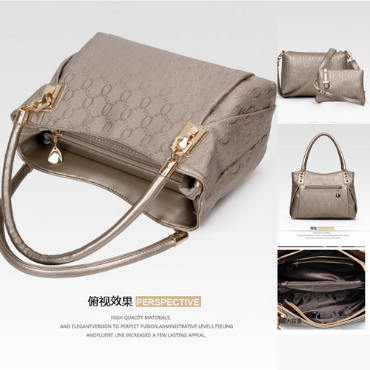 B067-(3in1) IDR.208.000 MATERIAL PU SIZE BIG-L31XH24XW14CM,MEDIUM-L24X17X7CM,SMALL-17X12CM WEIGHT 1300GR COLOR GOLD