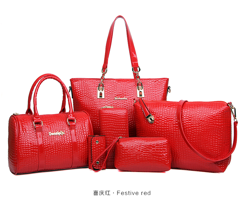 B069 IDR.255.000 MATERIAL PU SIZE BIG-L30XH28XW12,MEDIUM-L27XH18XW11CM WEIGHT 1300GR COLOR RED