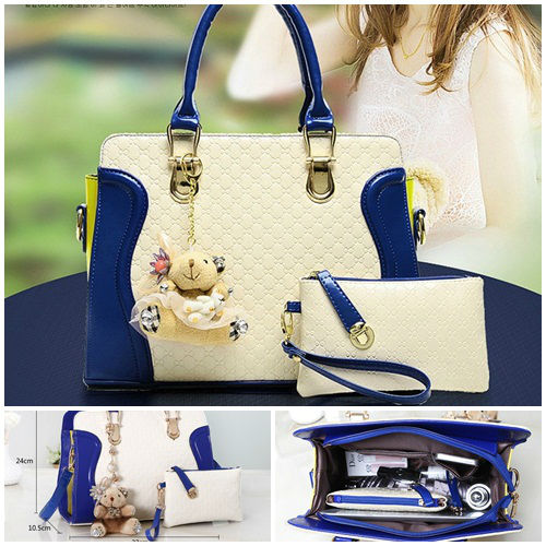 B072 IDR.215.000 (2IN1) MATERIAL PU SIZE L31X24X10CM WEIGHT 850GR COLOR BLUE
