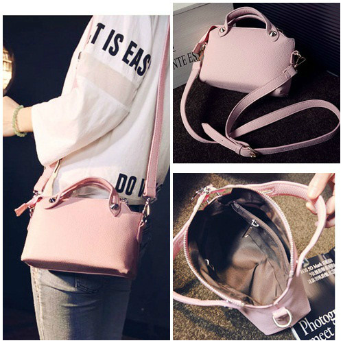 B082 IDR.145.000 MATERIAL PU SIZE L24XH16XW8CM WEIGHT 450GR COLOR PINK