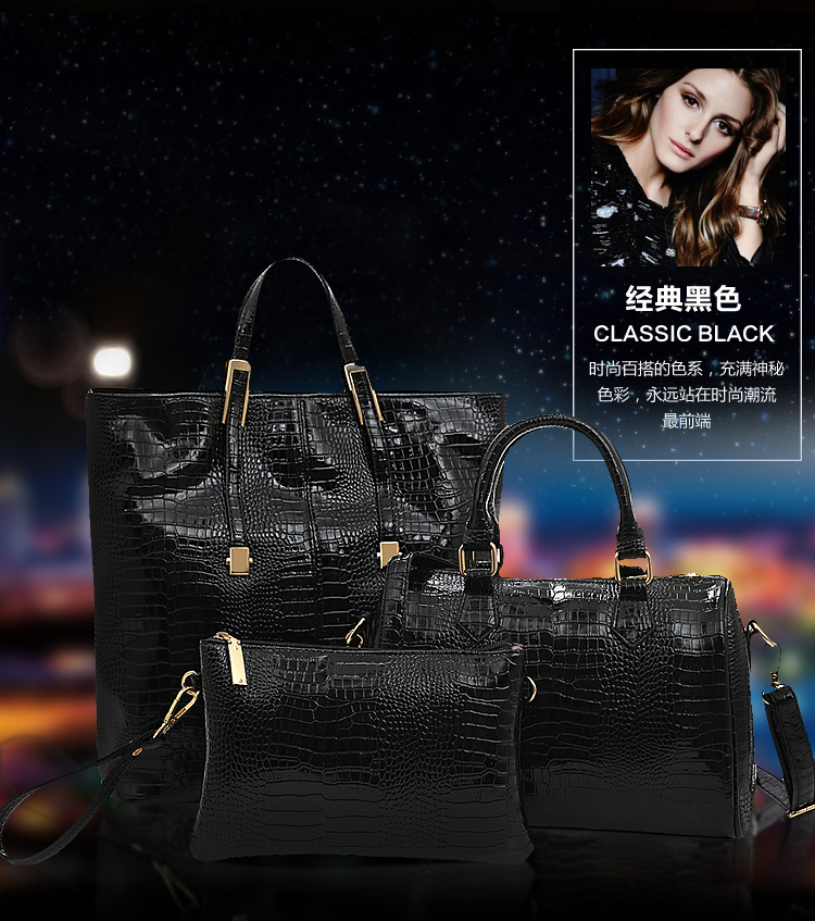 B1000-(3in1) IDR.255.000 MATERIAL PU SIZE BIG-L30XH35,MEDIUM-L29XH23,SMALL-L25XH17CM WEGHT 1400GR COLOR BLACK