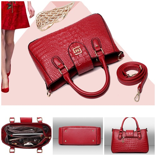 B1015 IDR.205.000 MATERIAL PU SIZE L32XH20XW12CM WEIGHT 800GR COLOR RED