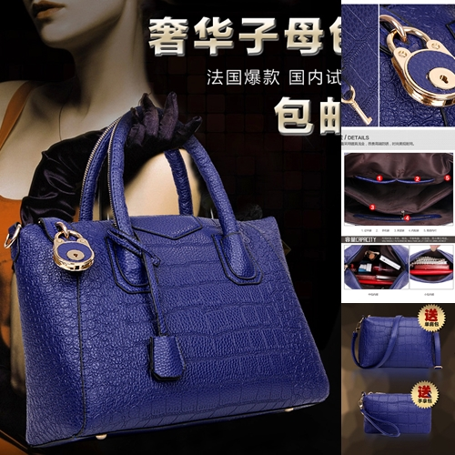 B1034-(3in1) IDR.235.000 MATERIAL PU SIZE L33XH24XW15CM WEIGHT 1400GR COLOR BLUE
