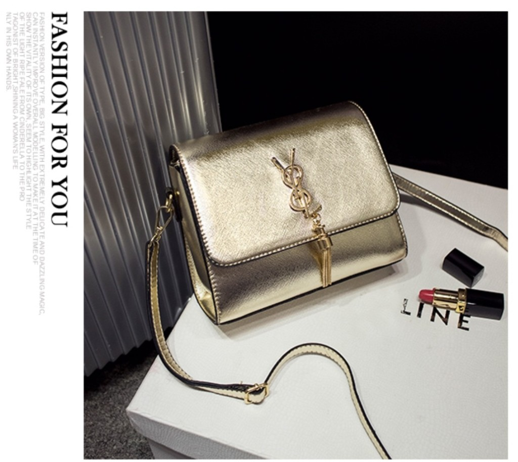 B1088 IDR.172.000 MATERIAL PU SIZE L30XH20XW13CM WEIGHT 450GR COLOR GOLD