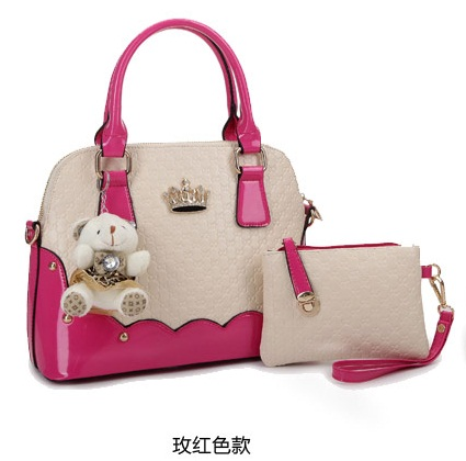 B1134-(2in1) IDR.200.000 MATERIAL PU SIZE L31XH22XW14CM WEIGHT 900GR COLOR ROSE