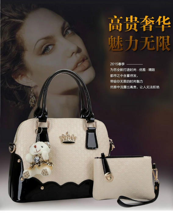 B1134(2IN1) IDR.225.000 MATERIAL PU SIZE L31XH22XW14CM WEIGHT 900GR COLOR BLACK