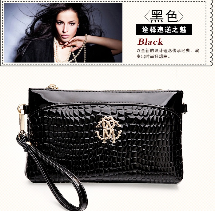 B1160 IDR.155.000 MATERIAL PU SIZE L23XH15XW3CM WEIGHT 500GR COLOR BLACK