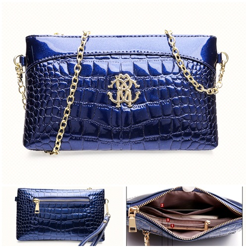 B1160 IDR.155.000 MATERIAL PU SIZE L23XH15XW3CM WEIGHT 500GR COLOR BLUE