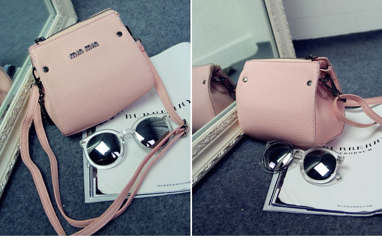 B1198 IDR.167.000 MATERIAL PU SIZE L17XH15XW8CM WEIGHT 400GR COLOR PINK
