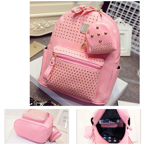 B1199 IDR.190.000 MATERIAL PU SIZE L25XH30XW14CM WEIGHT 900GR COLOR PINK
