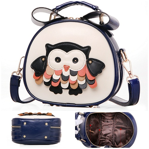 B1200 IDR.177.000 MATERIAL PU SIZE L19XH18XW8CM WEIGHT 600GR COLOR DARKBLUE