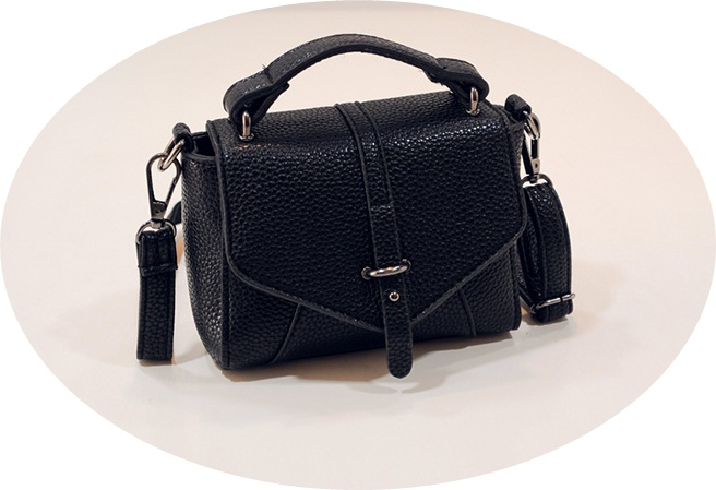 B1245 IDR.159.000 MATERIAL PU SIZE L17XH13XW7CM WEIGHT 500GR COLOR BLACK