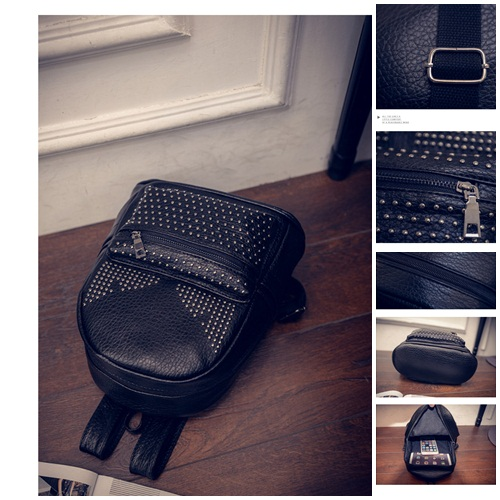 B1327A IDR.159.000 MATERIAL PU SIZE L20XH27XW12CM WEIGHT 650GR COLOR BLACK