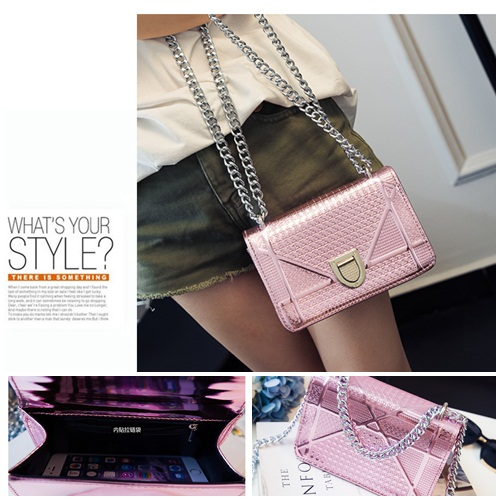 B1341 IDR.168.000 MATERIAL PU SIZE L19XH13XW8CM WEIGHT 550GR COLOR PINK