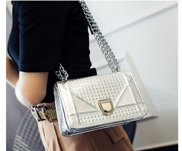B1341 IDR.168.000 MATERIAL PU SIZE L19XH13XW8CM WEIGHT 550GR COLOR SILVER