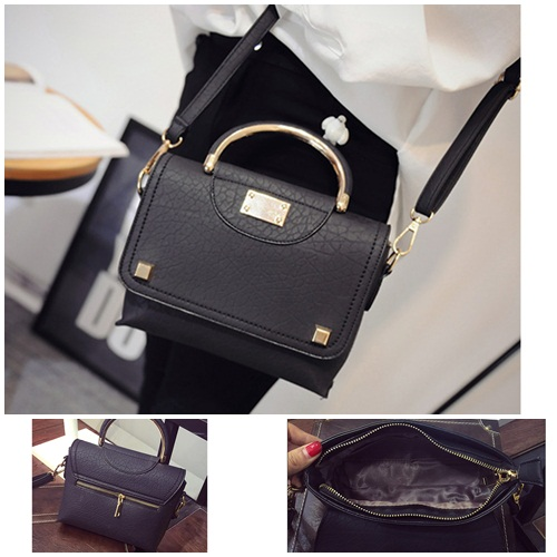 B1346 IDR.159.000 MATERIAL PU SIZE L20XH18XW6CM WEIGHT 700GR COLOR BLACK