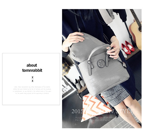 B1363-(2in1) IDR.195.000 MATERIAL PU SIZE L31XH23XW15CM WEIGHT 1150GR COLOR GRAY