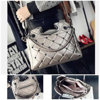 B1377-IDR.189.000-MATERIAL-PU-SIZE-L33XH25XW11CM-WEIGHT-850GR-COLOR-SILVER
