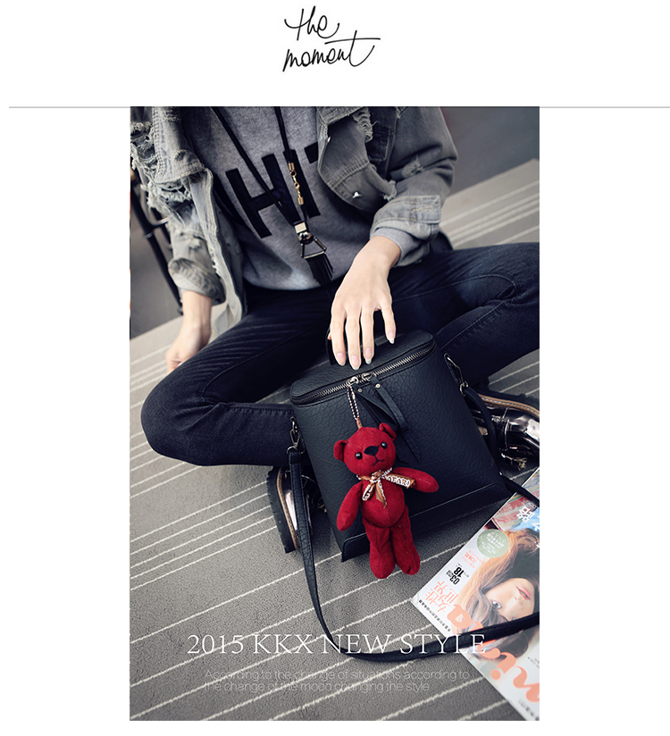 B1393 IDR.175.000 MATERIAL PU SIZE L23XH25XW11CM WEIGHT 750GR COLOR BLACK