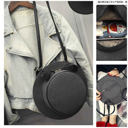 B1426 IDR.159.000 MATERIAL VELVET SIZE L28XH28XW8CM WEIGHT 600GR COLOR GRAY