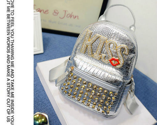 B1513 IDR.170.000 MATERIAL PU SIZE L20XH25XW10CM WEIGHT 700GR COLOR SILVER