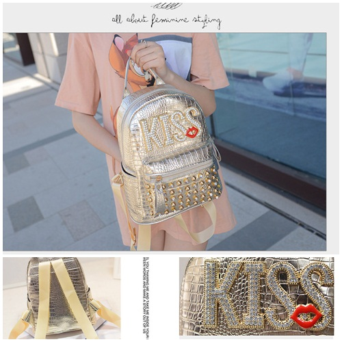 B1513 IDR.184.000 MATERIAL PU SIZE L20XH25XW10CM WEIGHT 700GR COLOR GOLD