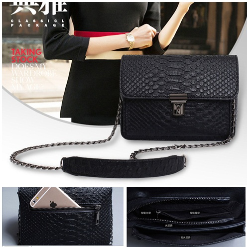 B1616 IDR.155.000 MATERIAL PU SIZE L17XH14XW8CM WEIGHT 650GR COLOR BLACK