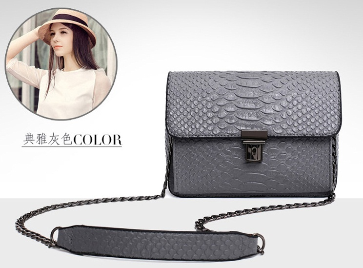 B1616 IDR.155.000 MATERIAL PU SIZE L17XH14XW8CM WEIGHT 650GR COLOR GRAY