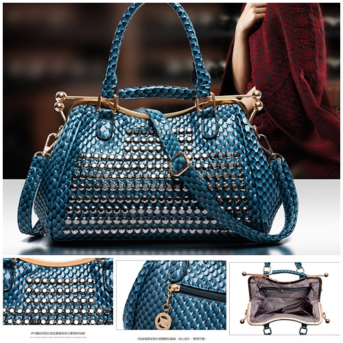 B1625 IDR.255.000 MATERIAL PU SIZE L31XH21XW12CM WEIGHT 1200GR COLOR BLUE