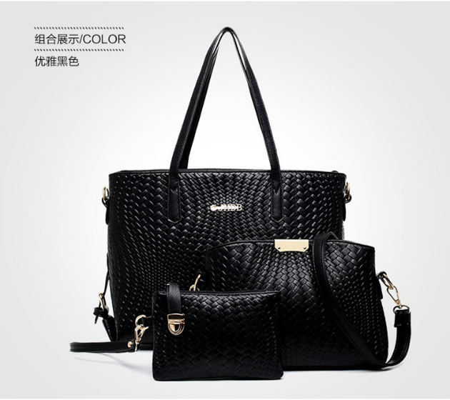 B1642-(3in1) IDR.220.000 MATERIAL PU SIZE L45XH31XW2CM WEIGHT 900GR COLOR BLACK