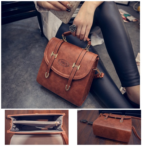B1670 IDR.188.000 MATERIAL PU SIZE L23XH24XW13CM WEIGHT 700GR COLOR BROWN