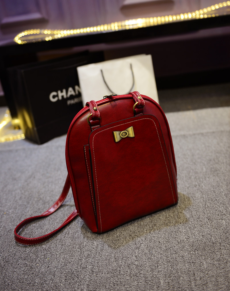 B168 IDR.186.000 MATERIAL PU SIZE L24XH29XW10CM WEIGHT 700GR COLOR RED