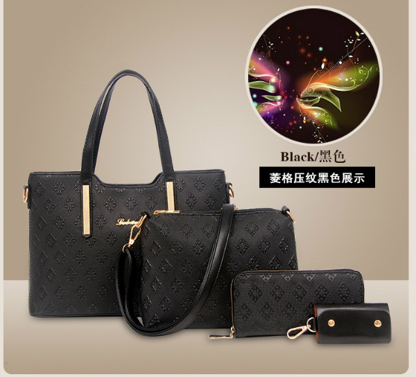 B1683-(4in1) IDR.205.000 MATERIAL PU SIZE L33XH23XW13CM WEIGHT 1300GR COLOR BLACK