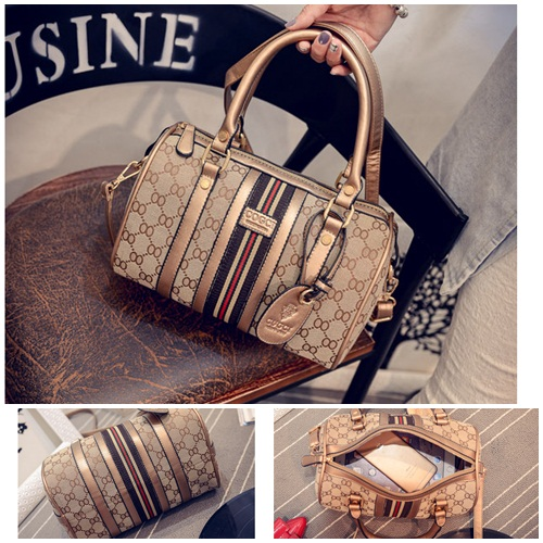 B1700 IDR.205.000 MATERIAL CANVAS SIZE L26XH17XW14CM WEIGHT 750GR COLOR GOLD