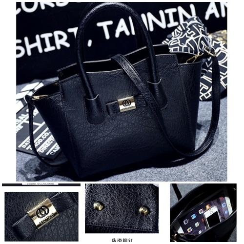 B1737 IDR.180.000 MATERIAL PU SIZE L26XH23XW15CM WEIGHT 700GR COLOR BLACK