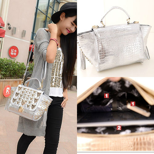 B175 IDR.250.000 MATERIAL PU SIZE L22-38CMXH19XW13CM WEIGHT 950GR COLOR BLACK,GOLD,SILVER (3)