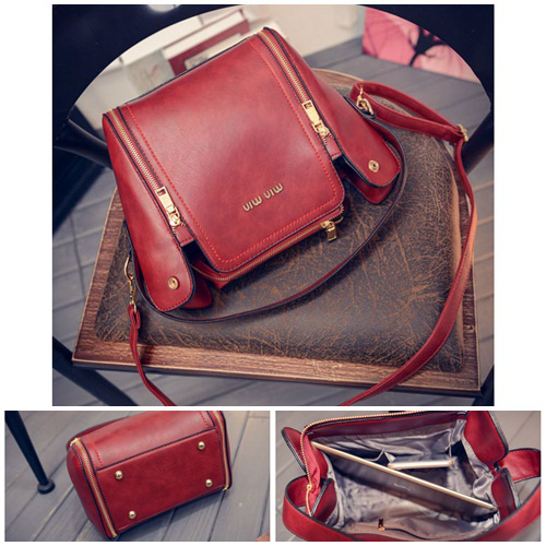 B1775 IDR.175.000 MATERIAL PU SIZE L21XH22XW13CM WEIGHT 750GR COLOR RED