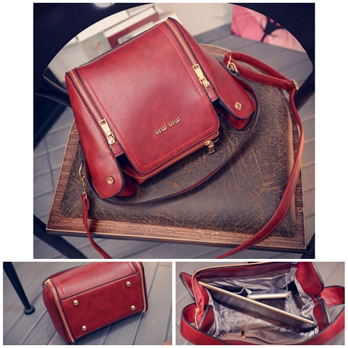 B1775 IDR.198.000 MATERIAL PU SIZE L21XH22XW13CM WEIGHT 750GR COLOR RED