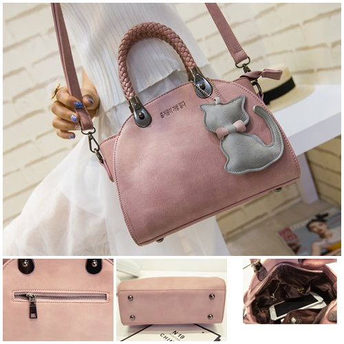 B180 IDR.182.000 MATERIAL PU SIZE L24XH20XW8CM WEIGHT 750GR COLOR PINK