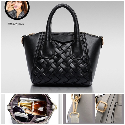 B1865 IDR.168.000 MATERIAL PU SIZE L18XH17XW15CM WEIGHT 600GR COLOR BLACK