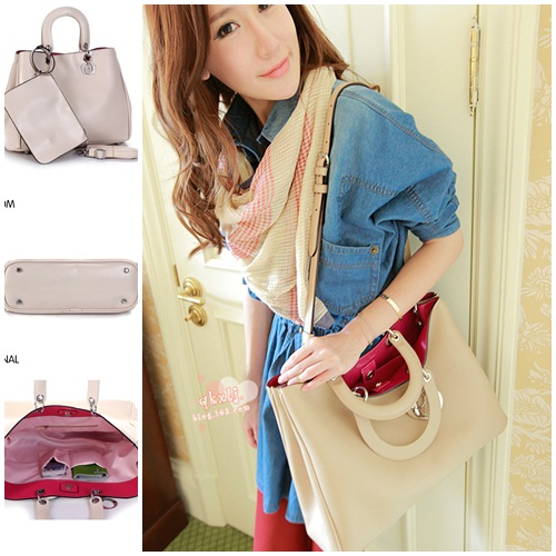 B192-(2in1) IDR.160.000 MATERIAL PU SIZE L33XH24XW11CM WEIGHT 780GR COLOR BEIGE