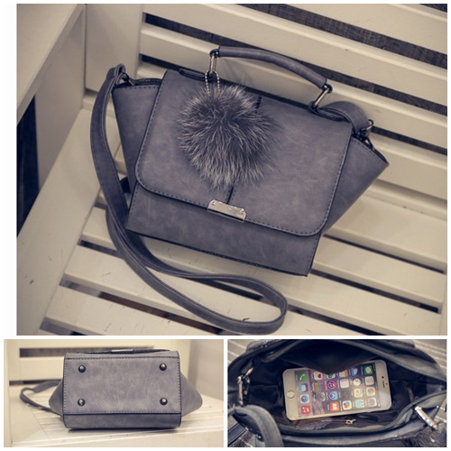 B1923 IDR.160.000 MATERIAL PU SIZE L18XH16XW9CM WEIGHT 600GR COLOR GRAY