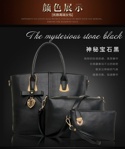B1928-(3in1) IDR.215.000 MATERIAL PU SIZE L29XH24XW13CM WEIGHT 1300GR COLOR BLACK