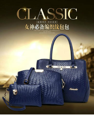 B1974-(3in1) IDR.250.000 MATERIAL PU SIZE L32XH25XW14CM WEIGHT 1300GR COLOR BLUE
